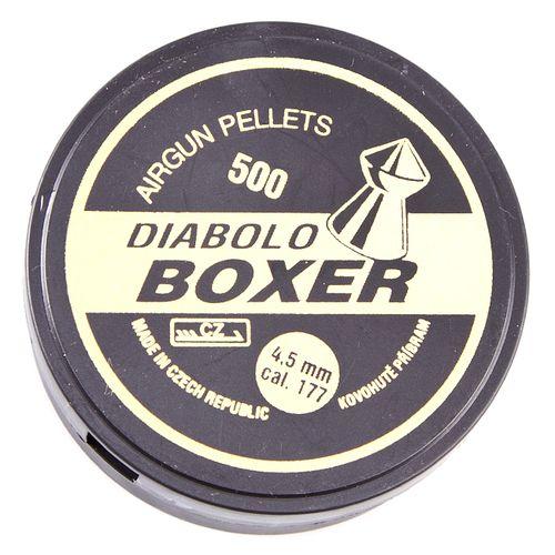 Śrut Diabolo Boxer, 500 sztuk, kal. 4,5 mm