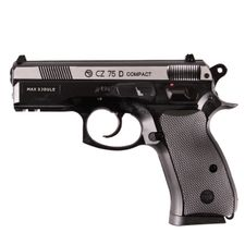 Pistolet airsoft CZ 75 D DuoTone CO2, 4,5 mm, czarny