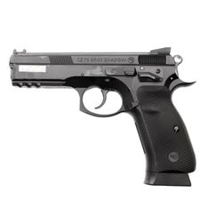 Pistolet airsoft CZ 75 SP01 Shadow, sprężyna, kaliber 6 mm
