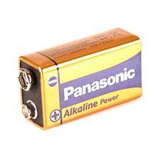 Bateria Panasonic 9 V typu 6LR61