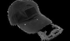 Czapka Gotcha z elementem obronnym, czarna