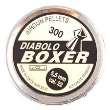 Śrut Diabolo Boxer, 300 sztuk, kal. 5,5 mm