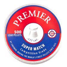 Śrut Diabolo Crosman Premier Super Match, 500 sztuk, kal. 4,5 mm (.177)