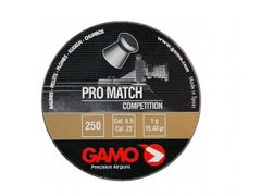 Śrut Gamo Pro Match, 250 sztuk, kaliber 5,5mm