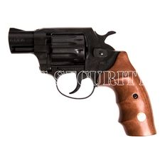 Rewolwer typu flobert Alfa 420, czarny, drewno, kaliber 4mm, Randz Long