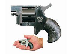 Rewolwer typu flober Ekol Arda, czarny, kaliber 4mm, Flobert (Randz Curte)