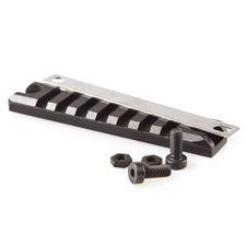 Szyna do zamontowania montażu, 22 mm, długość 98 mm