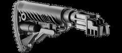 Przytwierdzana kolba do AK 47 typ M16 z amortyzatorem, polimerowa, czarna SBT-K47FK