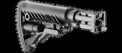 Przytwierdzana kolba do SA 58 typ M16 z amortyzatorem, polimerowa, czarna SBT-V58 FK
