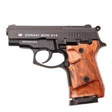 Gas gun ZORAKI 914 Auto Black, kal.9 mm stock drewna