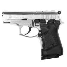 Pistolet gazowy Zoraki 914 Auto błyszczący chrom, kal.9 mm knall