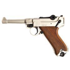 Pistolet gazowy Cuno Melcher P08, satyna, kaliber 9mm
