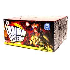 Pirotechnika Indian cream 100 strzałów