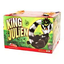 Protechnika King Julien 49 strzałów