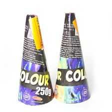 Pirotechnika Wulkan kolor 250 g (2 szt)