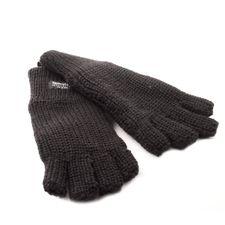 Czarne rękawice termiczne