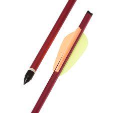 """Dural strzałka 16 """"HalfMoon Ek Archery czerwona 1szt"""