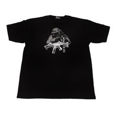 Koszulka CZ Scorpion, kolor czarny XL
