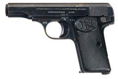 Dezaktywowana pistolet Fn 1910 kal. 9 Browning