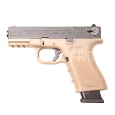 Pistolet airsoft M22 CO BB 6 mm, moro