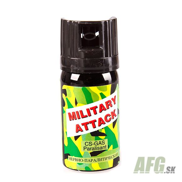 Gaz obronny CS MILITARY Atack 40 ml