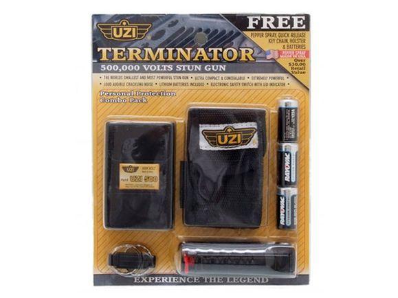Parlizator UZI 500 000 V, Terminator set