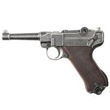 Pistolet gazowy Cuno Melcher P08, antik, kal. 9 mm