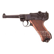 Pistolet gazowy Cuno Melcher P08, czarny, kal. 9 mm