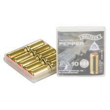 Naboje gazowe PV-S 9 mm pistolet, 10 stuck Supra Pepper Walther