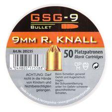 Naboje alarmowe GSG-9 R kal. 9 mm / 50 szt.