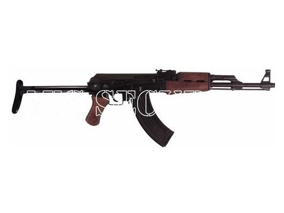 Replika karabinu AK-47, składana kolba