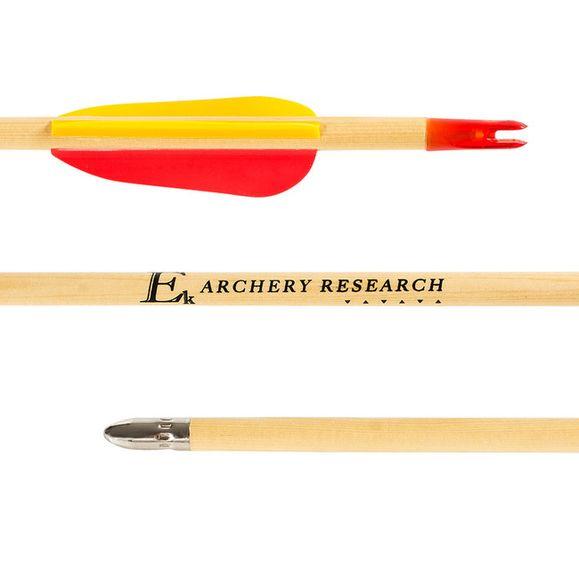 """Strzała drewniana 24"""" tarczowa Ek Archery 1 szt."""