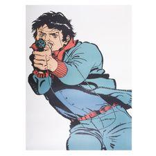 Papierowa tarcza, terrorysta 1 sztuk