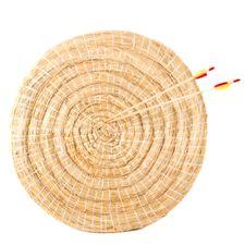 Mata okrągła, słomiana 80 cm